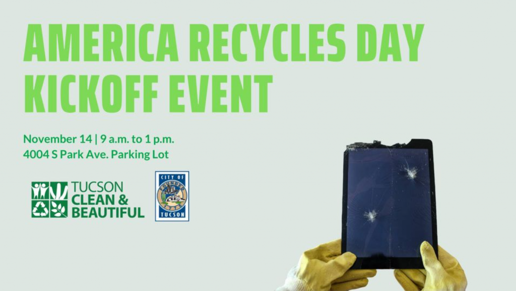 America Recycles Day Kickoff Event Flyer