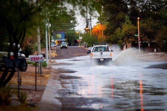 stormwater quality for Pima County