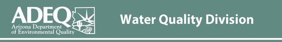water quality division ADEQ banner